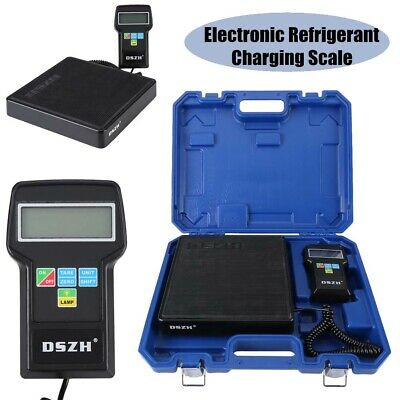 Heavy Duty 220LB 100KG HVAC AC Refrigerant Charging Weighing Scales UK