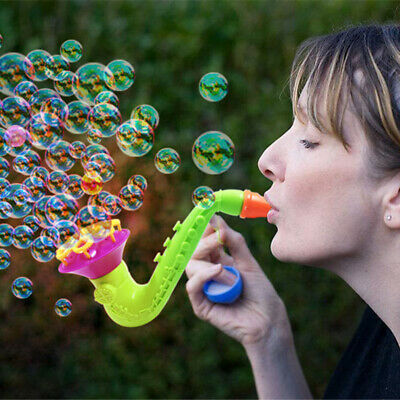 1PC Random Shape Water Blowing Toys Bubble Soap Bubble Blower Outdoor Kids Toys