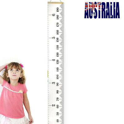 WOODEN HEIGHT RULER Growth Chart Personalised Family Gift Fashion kids Cute JJ