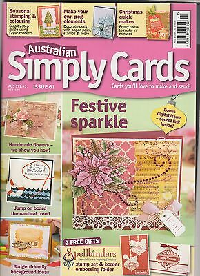 'Australian Simply Cards' Issue 61 (Oct 2013)