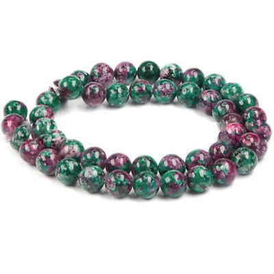 2019 New Natural Multi Ruby Emerald Sapphire Faceted Rondelle Gemstone Beads 8MM