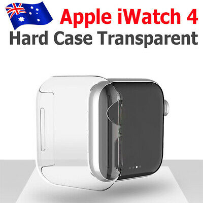 40mm/44mm Clear Ultra Full Case Cover Screen Protector For Apple Watch Series 4