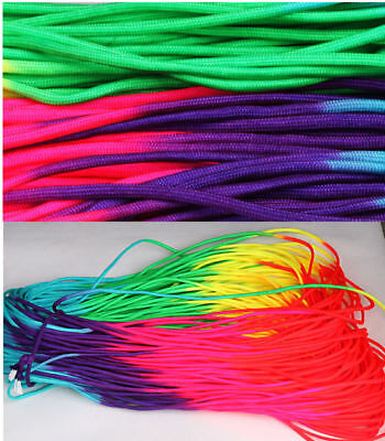 100-300Ft RainBow Color 550 Paracord Rope 7 strand Parachute Cord CAMPING HiKING