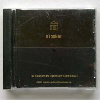 eTaxNet - Tax Solutions for Businesses & Individuals 2002 CD-ROM (C342A)