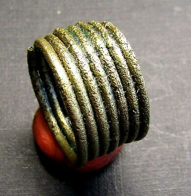 Ancient Viking Bronze Ring. (A8.1).Cleared.