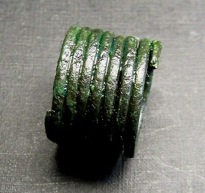 Ancient Viking Bronze Ring. (W 8.1).