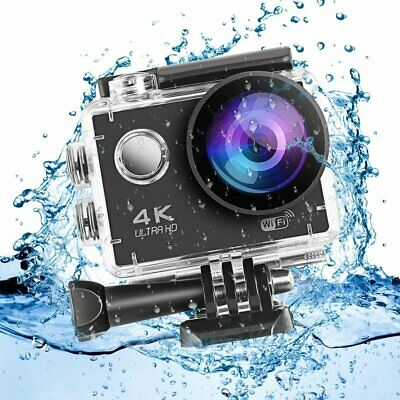 Wasserdicht Sport Aktion Kamera Action Cam Camera 4K WiFi Full HD 16MP as Go pro