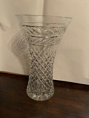 Antique Lead Crystal Medium -Large Vase