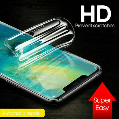 For Samsung Galaxy S10 Plus S10 S10e PET Soft Clear Screen Protector Film