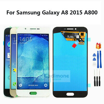 Per Samsung Galaxy A8 2015 A800 LCD Touch Screen Display Schermo Assembly hand02