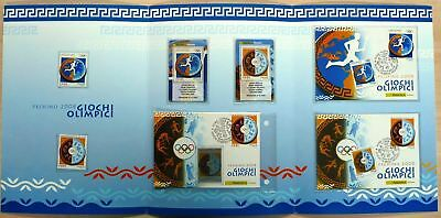 2008 Repubblica Italiana Folder Italia Pechino Olimpiadi Mf3748
