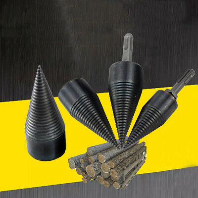 32mm Household Kindling Firewood Log Splitter Cone Electric Drill Bit Trendy