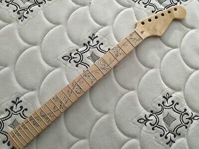 Tree of Life guitar neck ST style maple fingerboard 22 fret  25.5 inch