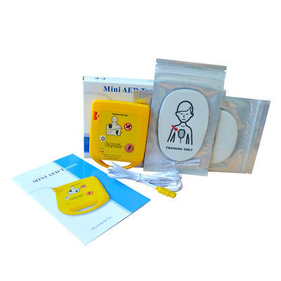 Mini AED Trainer Emergency First Aid Kit Training Automatic External Device