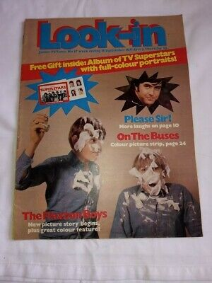 Look-in Magazine - Junior TV Times #37 (18/09/1971) The Flaxton Boys, Antartica