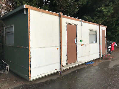 used water damaged prefabricated portable office building FREE