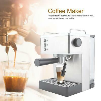 2.2L Espresso Coffee Machine, Cappuccino Maker, Latte Coffee Maker, Moka Maker