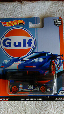 HOT WHEELS 2019 CAR CULTURE GULF McLAREN F1 GTR