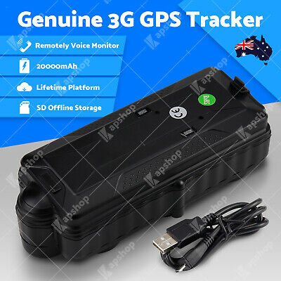 3G GPS Tracker Anti Theft Live Tracking Wireless 20000mAh Big Battery Magnet Car