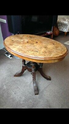 Victorian Walnut Occasional Table Antique