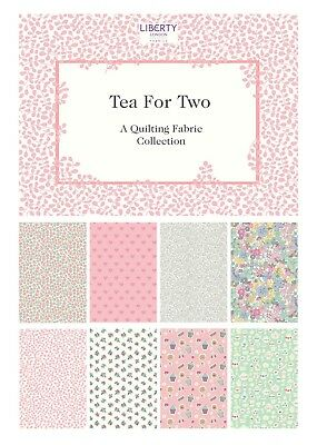 LIBERTY of London Tea for Two - 100% Lasenby Cotton Fabric for quilting & crafts