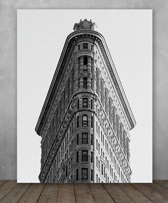 Poster - New York City Flatiron Building - Choose Unframed Poster or Canvas
