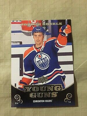 2010-11 UD Upper Deck Jordan Eberle Young Guns YG Rookie RC New York Islanders