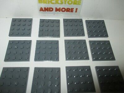 Plate Plaque 4x4 3031 Old Dark gray//gris//grau Lego Choose Quantity