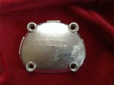 Vincent HRD DYNAMO PINION COVER. Made in England. Quality item. ET63