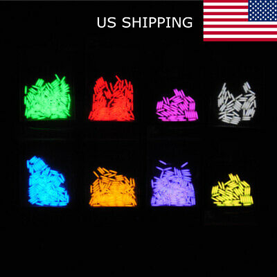 Outdoor Tritium Gas Tube Self Luminous Emergency Lights Glow In The Dark V4A8