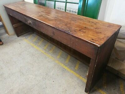 Antique Wooden Sideboard / Shop Counter