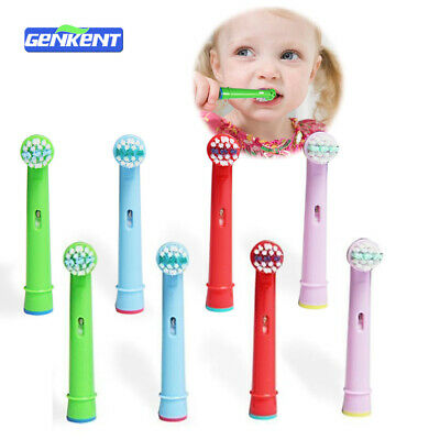 8 Pcs Kids Electric Toothbrush Heads Fits For Oral B Rechargeable Children Brush