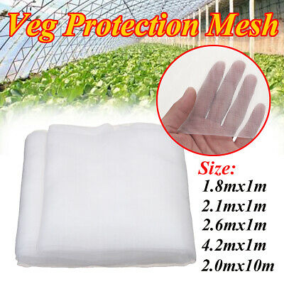 Woven Insect Netting Garden Veg Plant Crop Protection Mesh Various Sizes UK