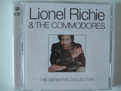Lionel Richie & The Commodores - The Definitive Collection, Neu OVP, 2 CD Set