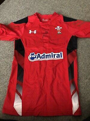 Wales Signed Rugby Shirt By George North
