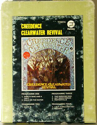 CREEDENCE CLEARWATER REVIVAL Self Titled  8 TRACK CARTRIDGE