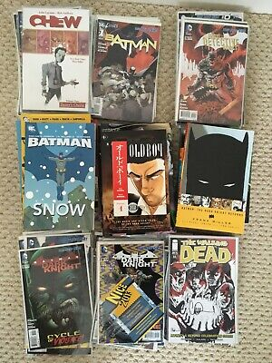 Comic Collection Job Lot - Batman New 52, Walking Dead And Others. 99 In Total