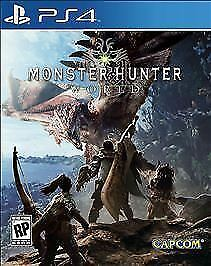 Monster Hunter: World (Sony PlayStation 4 PS4 2018) Brand New Factory Sealed