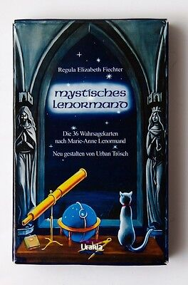Madam Lenormand 36 Cards Deck Mystic + manual in Russian карты Мадам Ленорман