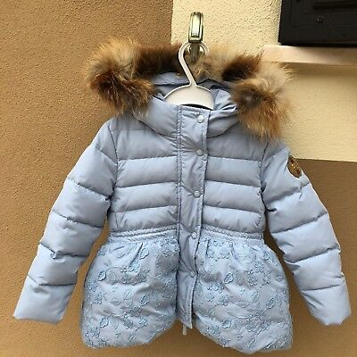 Piumino Duvet Quilted Jacket Ermanno Scervino Baby 2 Anni Years