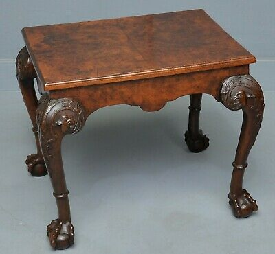 Stunning Georgian Revival Burr-Walnut Occasional / Coffee Table