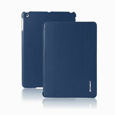 Invision Dark Blue Smart Case iPad 2 3 4 Auto sleep wake Multiple Viewing Angle