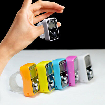Creative Sport Finger Counter Ring With Time Electronic Counter Manual Counter