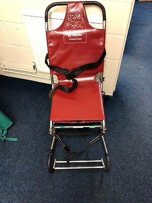 Ferno Compact Carry Evacuation Ambulance Chair Burgundy