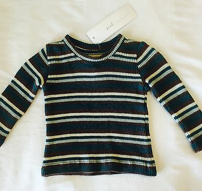 Peek Little Peanut Teal Stretch Long Sleeve Top NWT. 0-3 Months. Price $ 11