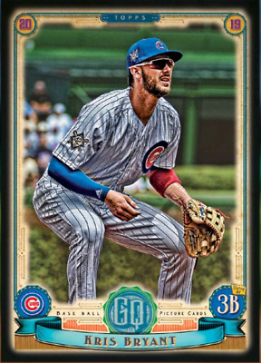 2019 GYPSY QUEEN JACKIE ROBINSON DAY MELD KRIS BRYANT Topps Bunt Digital