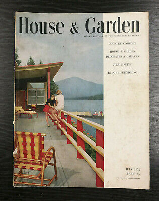 House & Garden Magazine: July 1952