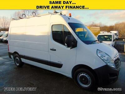 2011 61 Vauxhall Movano L2H2 Mwb, One Owner, Ladder Rack, Inverter, Hand Wash Di