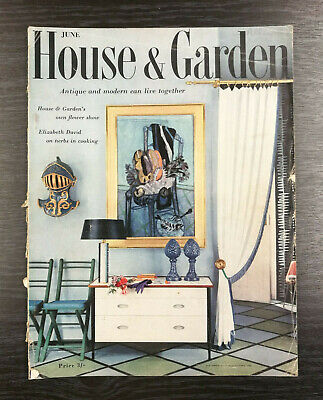 House & Garden Magazine: June 1956