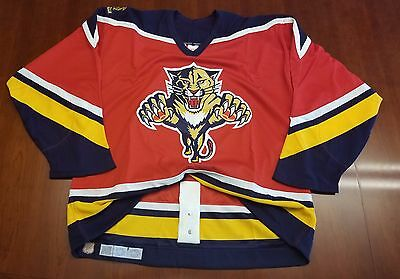 finest selection 7a8ac 9df3b FLORIDA PANTHERS VINTAGE Ccm Authentic Hockey Jersey Center ...